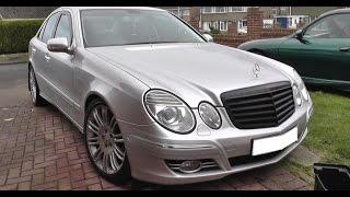 W211 Black Grill Install Remove Guide Mercedes E Class Youtube