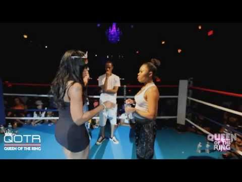 BABS BUNNY & VAGUE present QUEEN OF THE RING JAZ THE RAPPER vs 40 B.A.R.R.S. #NHB
