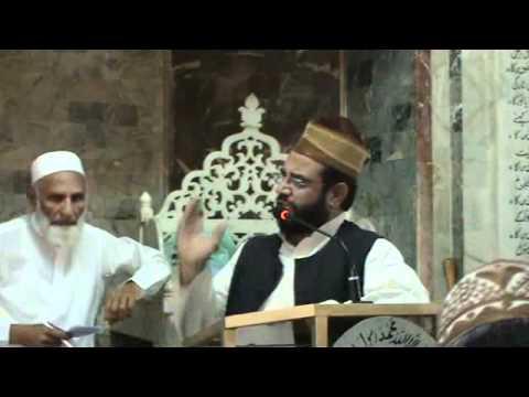 Speech-Allama Syed Maroof Shah