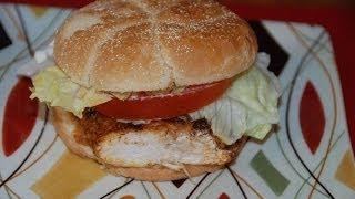Cajun Inspired Chicken Sandwich