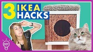 3 IKEA Hacks & DIY's für Katzen // Schnell & Günstig