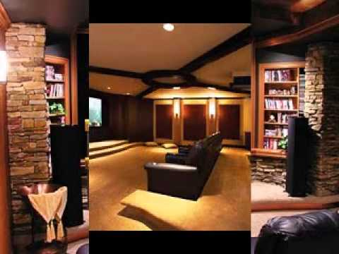 Home theater ideas basement YouTube