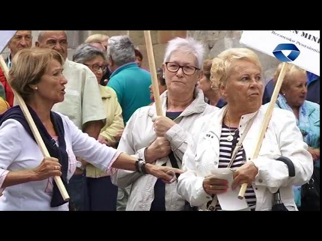 Bermeoko Pensionistek urriaren 1ean Bilbon ospatuko den manifestazioan parte hartzeko gonbidapena luzatu dute