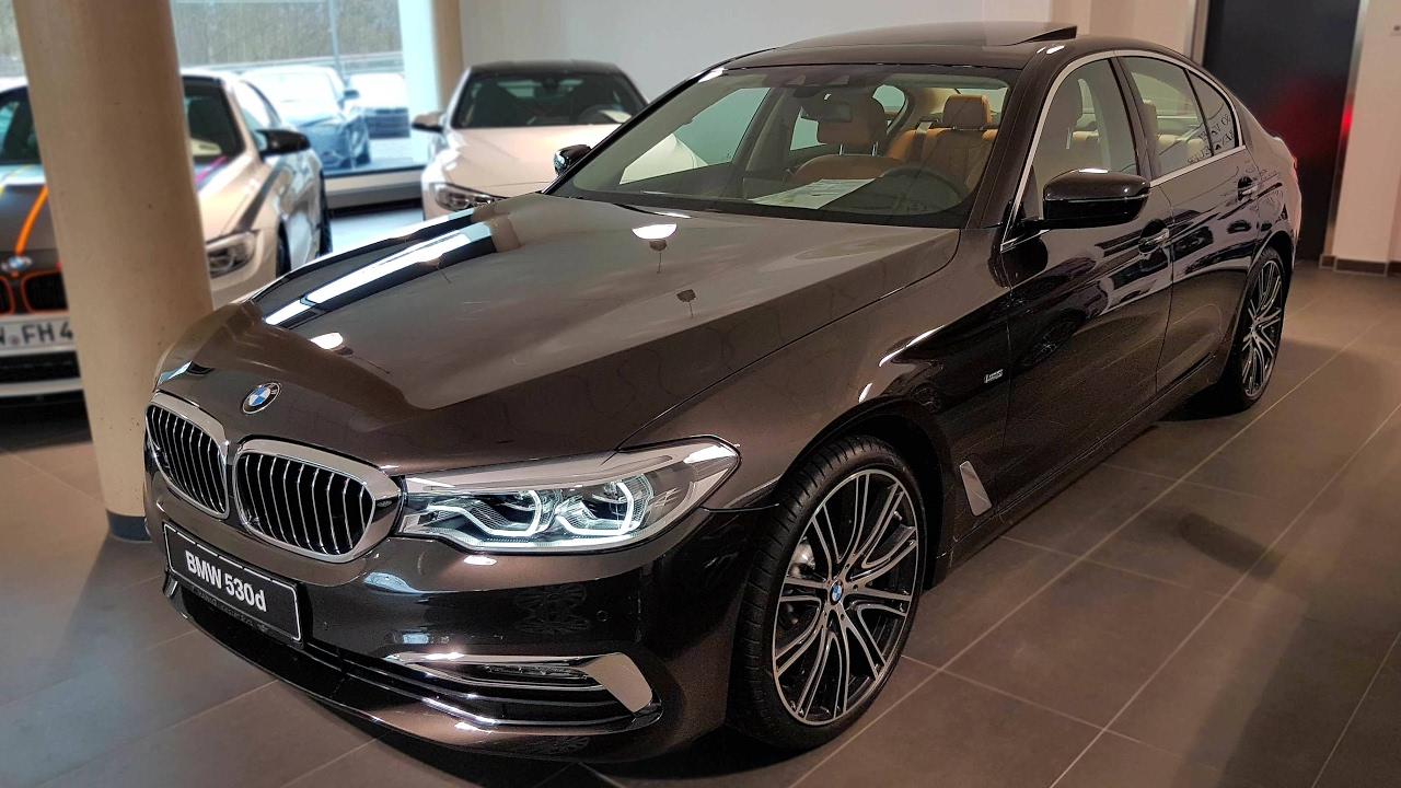 2017 Bmw 530d Limousine Luxury Line Bmwview Youtube
