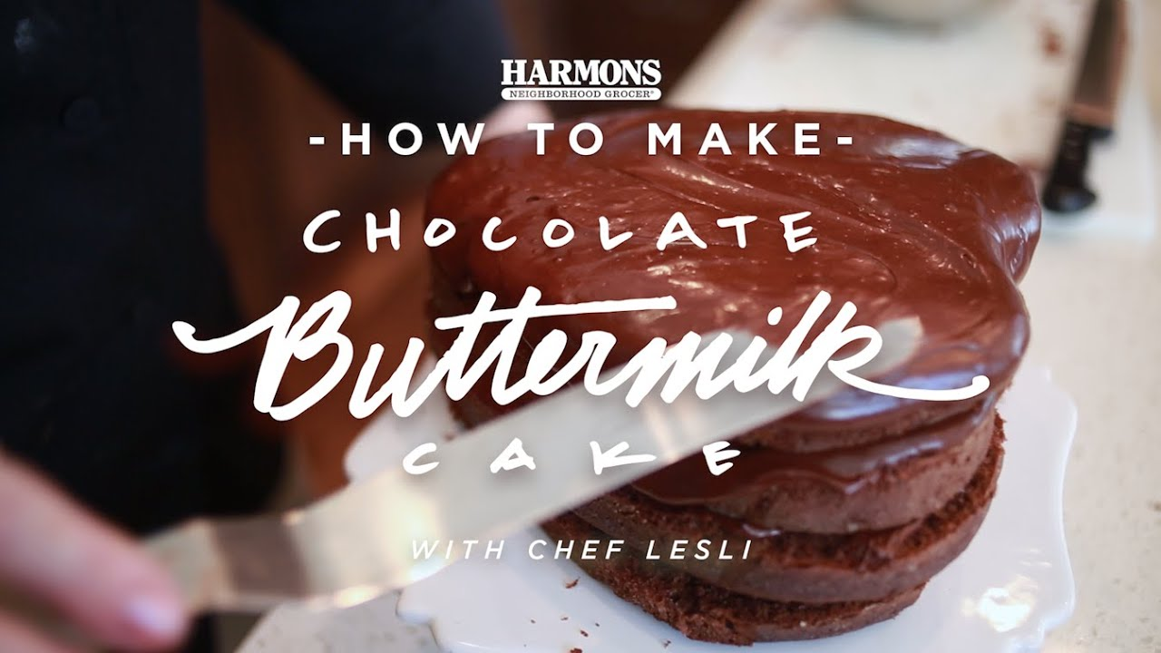 How To Harmons Chocolate Ermilk Cake