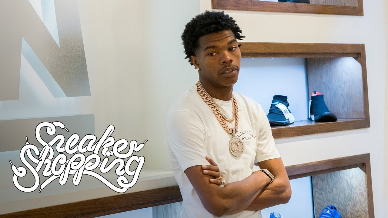 #LilBaby Goes #SneakerShopping With #Complex