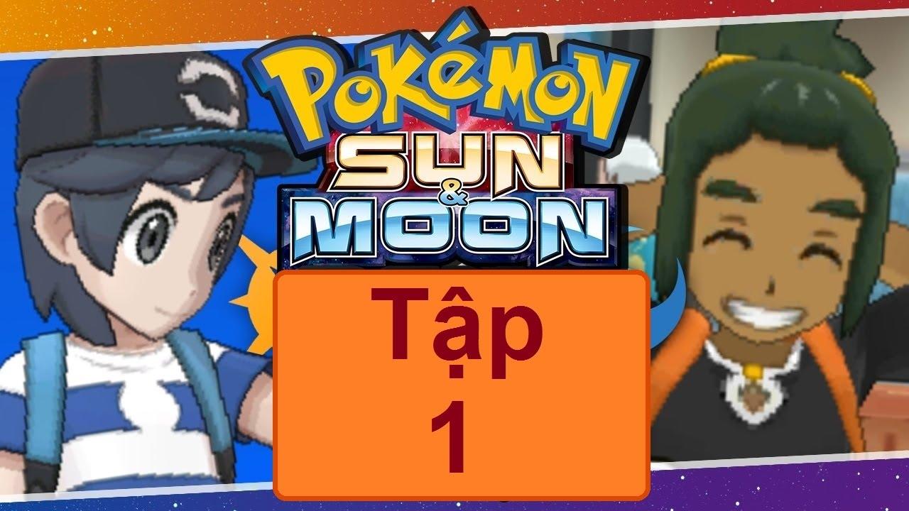 Pokemon Sun And Moon Tập 1 ChuyỂn ĐẾn V 217 Ng Alola Vietsub Youtube