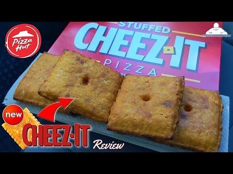 Craig Stevens - Pizza Hut debuts a gigantic Cheez-It stuffed with even more cheese