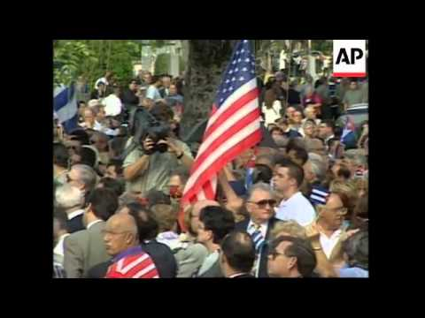 USA: MIAMI: FUNERAL OF CUBAN EXILE JORGE MAS CANOSA UPDATE