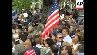 USA: MIAMI: FUNERAL OF CUBAN EXILE JORGE MAS CANOSA UPDATE