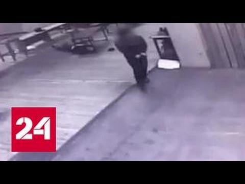 Расстрел инструктора в московском тире попал на видеокамеру