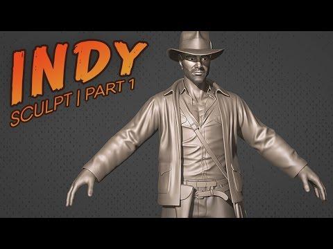 Indy Creation Part 1 | Sculpt