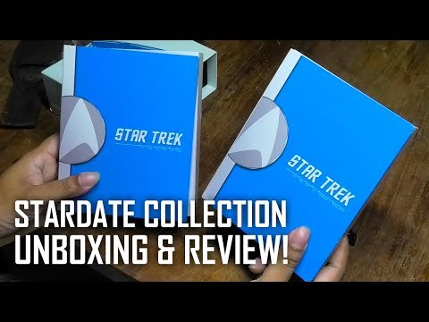 Star Trek Stardate Collection BluRay Unboxing & Review from YouTube · Duration:  2 minutes 33 seconds