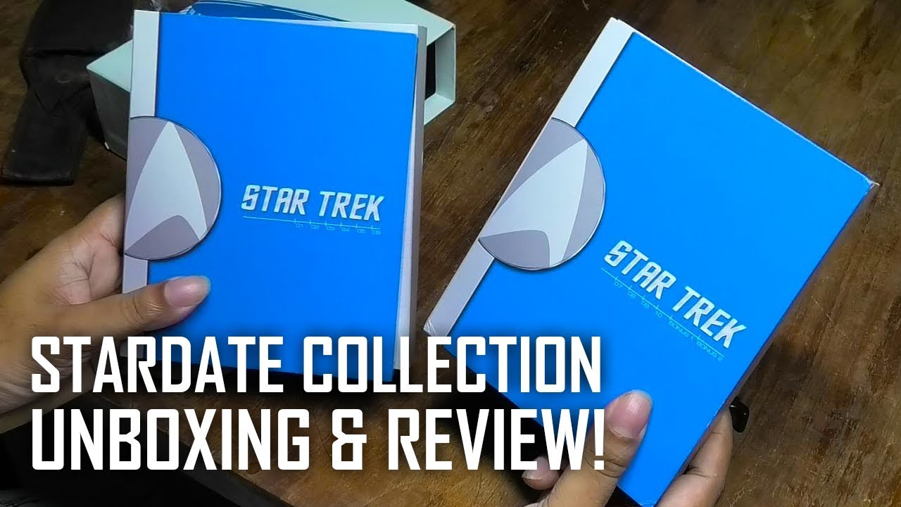 Star Trek Stardate Collection BluRay Unboxing & Review