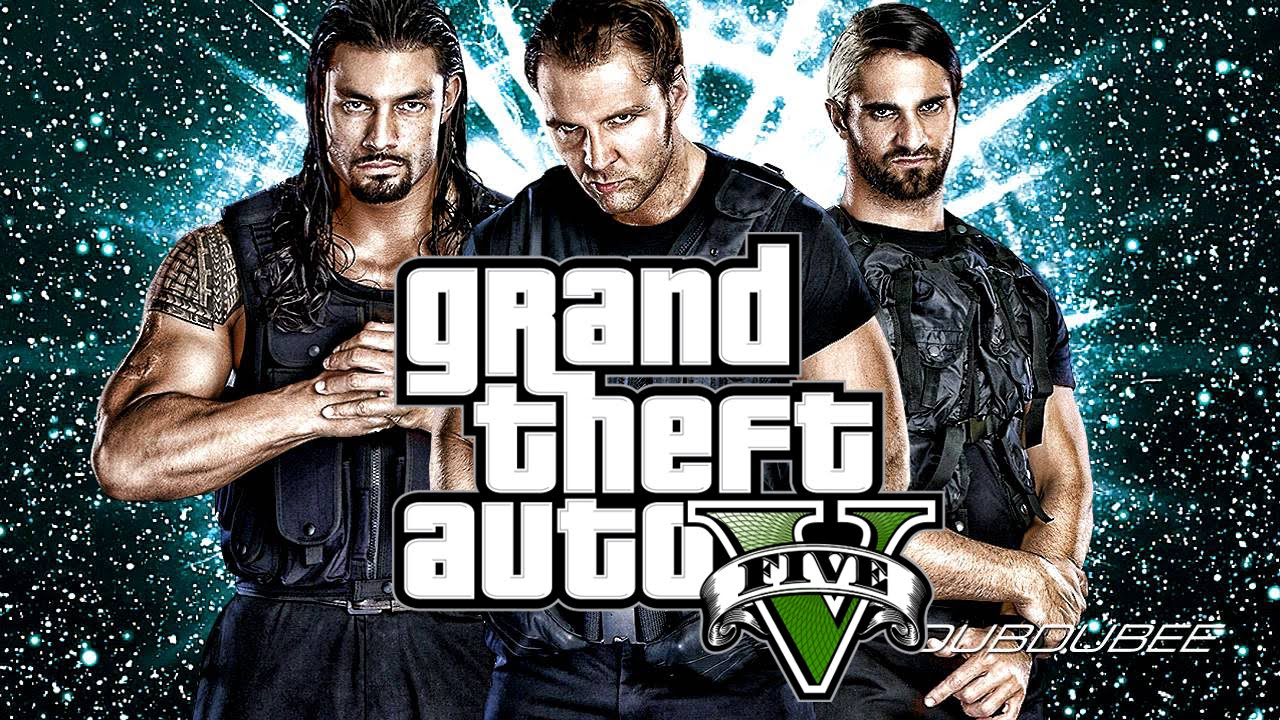 GTA 5 The Shield (WWE) - Outfit Tutorial - WWE Edition #1 - YouTube