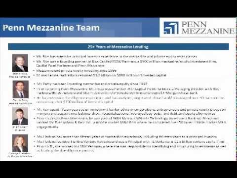 Debt Series - Mezzanine Debt
