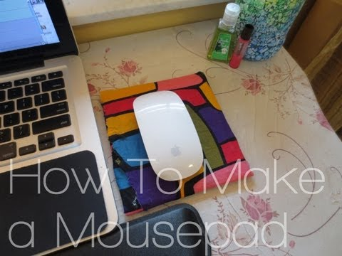How to Make a Mousepad   DIY Friday on RebeccaKelsey.com ...