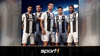 So sieht Ronaldo bei FIFA 19 im Juve-Dress aus | SPORT1 - eSPORTS