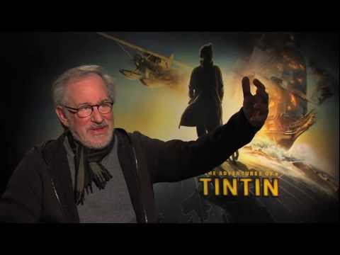 Steven Spielberg The Adventures of Tintin interview - talks Jurassic Park, Andy Serkis