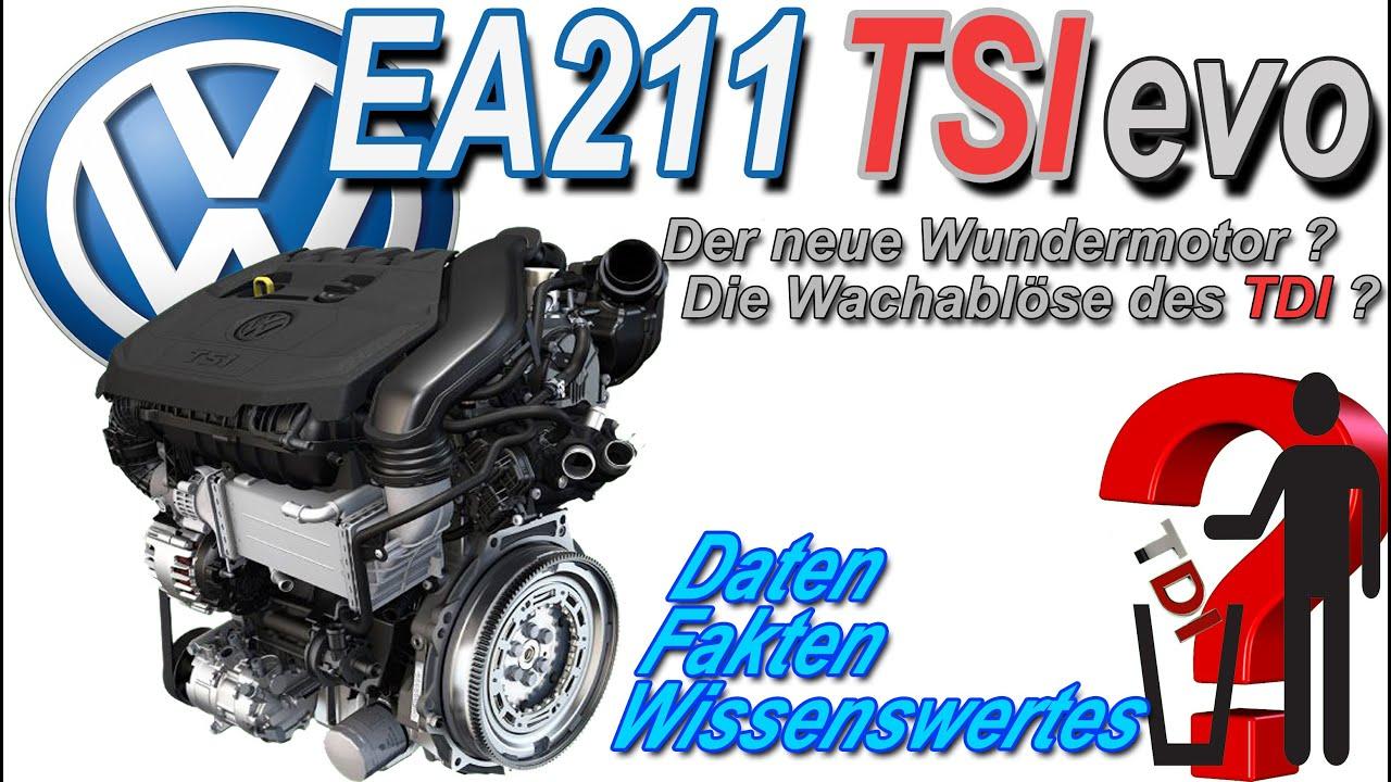 EA211 TSI evo | Der neue Wundermotor von Volkswagen und die Ablöse ...