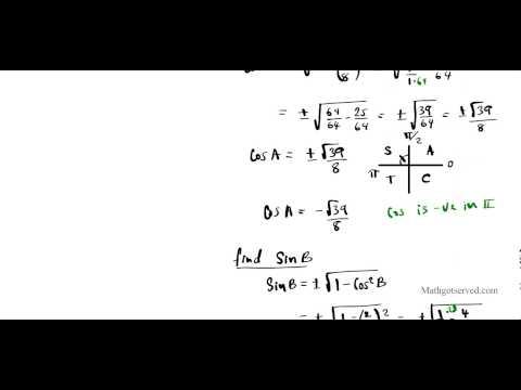 Part I Trigonometric Identities Review