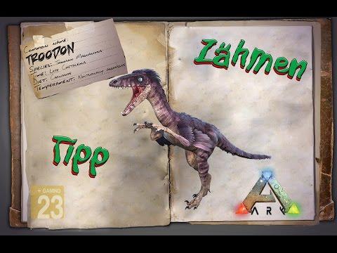 ARK: Survival Evolved [GUIDE/Deutsch] ** Troodon zähmen ** (fast tame) TIPP