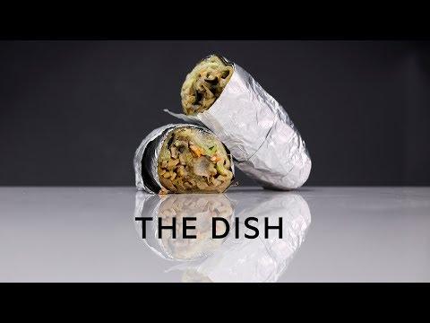 The Dish: Dr. Laffa chicken shawarma laffa