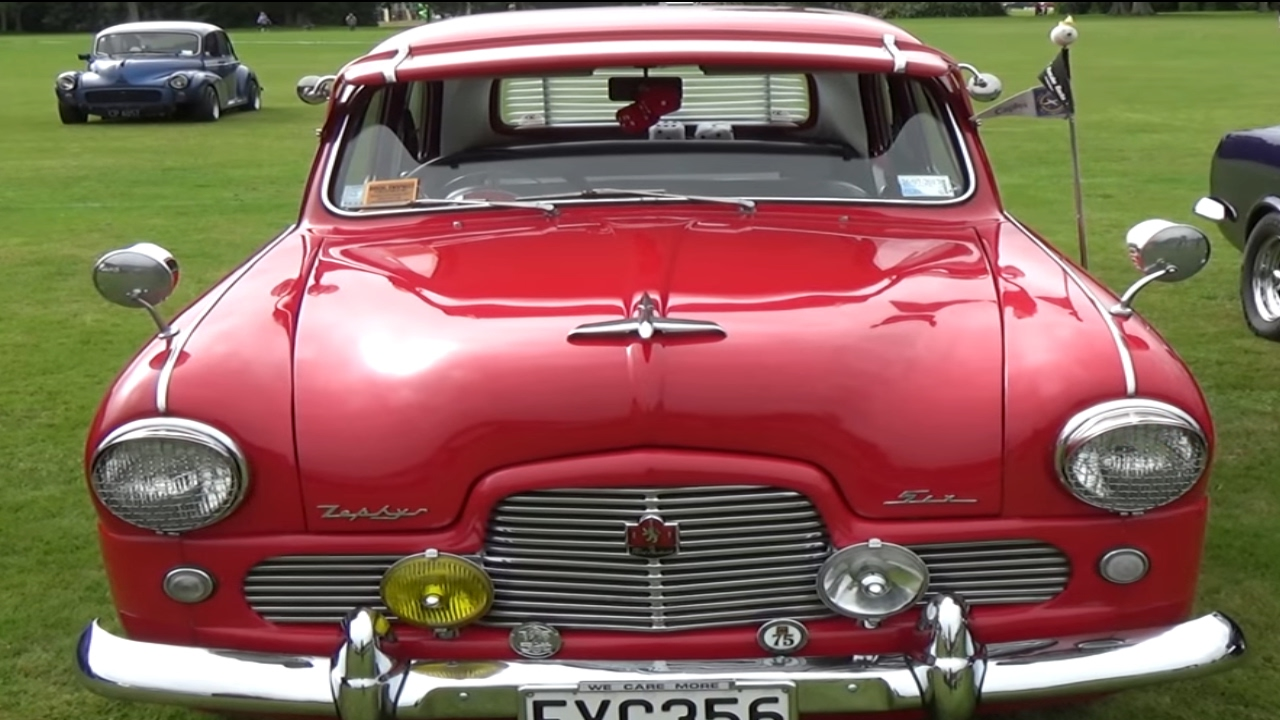 1955 Ford Zephyr Mk1 Youtube Coupe Suspension