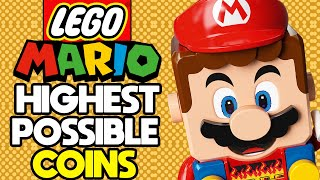 What is the Highest Coin Count Possible in LEGO Mario?