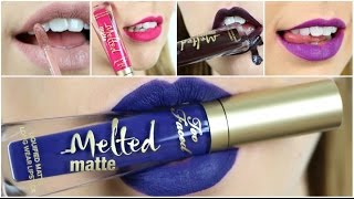 ❥LIP SWATCHES | Melted Matte - Too Faced