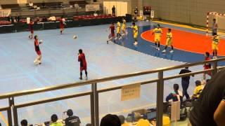 第68回 国体ハンドボール少年男子 北海道 vs 茨城県 (3)