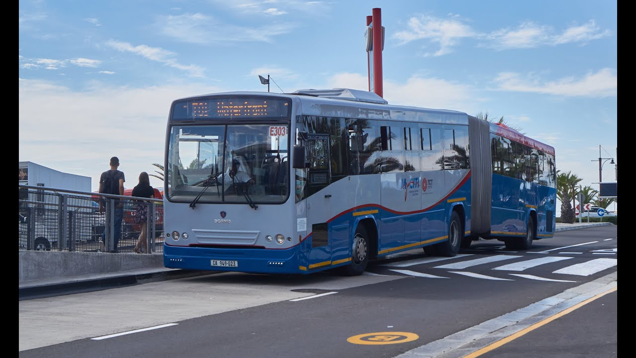 The bus is rolling by Myciti in Cape Town YouTube