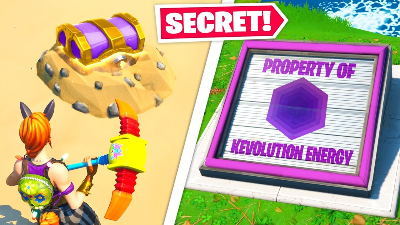 Top 10 Most SECRET Fortnite Chapter 2 Locations YOU NEVER NOTICED! thumbnail