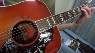 古井戸の「ポスターカラー」をアコギで弾き語りました。