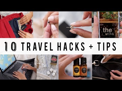 10 Smart Travel Hacks and Tips