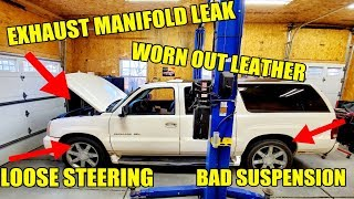 I Fixed EVERYTHING On A 15-Year-Old Cadillac Escalade In 1 Day To Avoid Buying My Wife A New Truck!