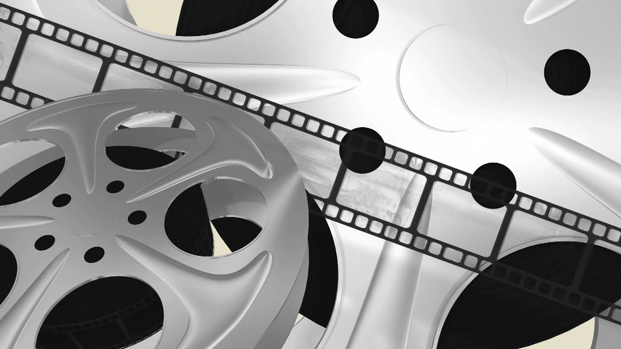 Film reels movie - free loop 3D animated HD background #02 - YouTube