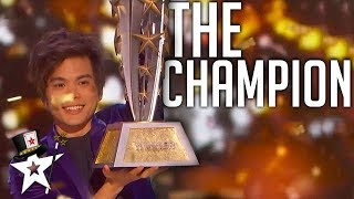 BEST Magician In The World on AGT Champions 2019 | Magicians Got Talent