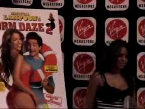 Dorm Daze 2 DVD signing Vida Guerra