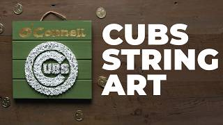 How To Make St. Patrick's Day String Art | Make it Cubs