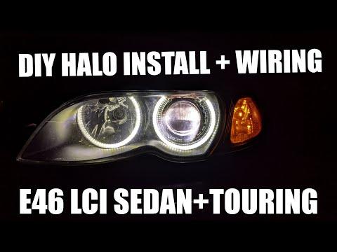ANGEL EYES INSTALL on my BMW E46 (DIY)