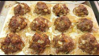 Meatballs - American, Chinese And Italian Ingredients - Poormansgourmet