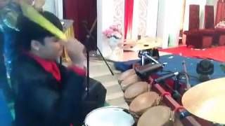 Musik Batak Lagu-Lagu Gereja di Pesta adat batak di Wamena tanah Papua (LABEWA)