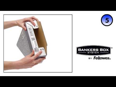 Bankers Box System 40mm Magazine File Grey YouTube Enchanting Bankers Box Magazine Holders