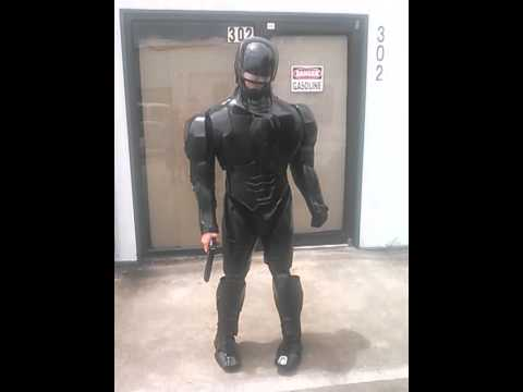 Most Amazing Robocop 2014 Costume Youtube