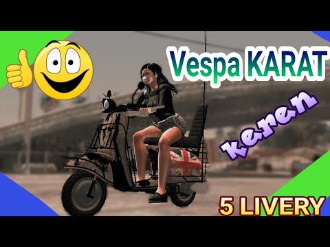 motor   VESPA KARAT by VengerTeam keren✓✓Gta sa android