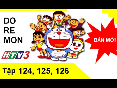 Phim hoạt hình Doremon tiếng Việt HTV3 tập 124, 125, 126