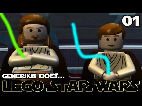 LEGO STAR WARS The Complete Saga Ep 01 - 'Feat. Liam Neeson as Kim Jong IL!!!'