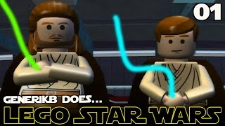 "LEGO STAR WARS The Complete Saga Ep 01 - ""Feat. Liam Neeson as Kim Jong IL!!!"""