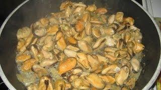 Мидии рецепт покупка и приготовление мидий в Италии Сицилия Палермо паста с мидиями